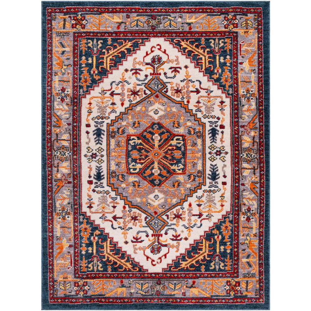 Patina Navy, Blush Rug - Surya (PIA-2309)