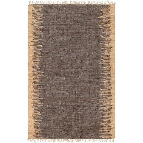 Ponderosa Dark Brown, Wheat Rug - Surya (PND-1000)