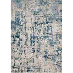 Quatro Denim, Dark Blue Rug - Surya (QUA-2303)