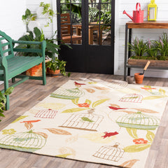 Rain Dark Red, Dark Green Rug - Surya (RAI-1126)