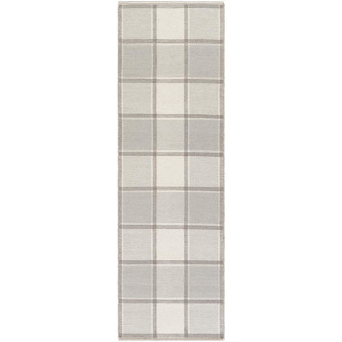 Rockford Light Gray, Cream Rug - Surya (RCF-8003)