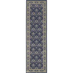 RICHMOND 119B3 Navy, Grey Rug - Oriental Weavers