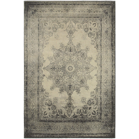RICHMOND 1333Y Ivory, Grey Rug - Oriental Weavers