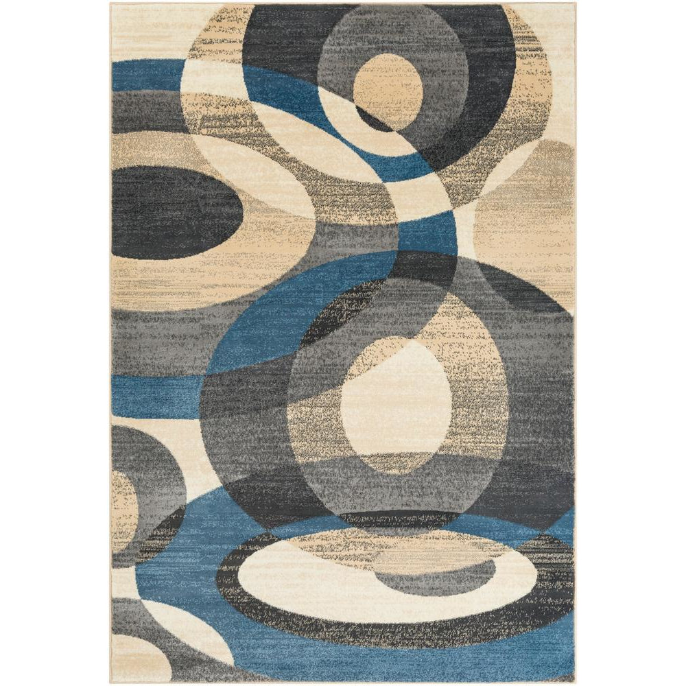 Riley Denim, Sky Blue Rug - Surya (RLY-5107)
