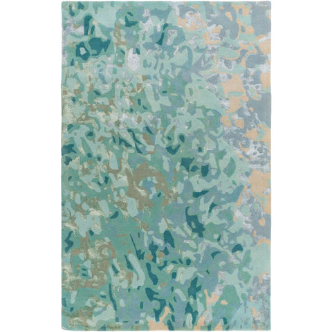 Remarque Teal, Ice Blue Rug - Surya (RRQ-2004)