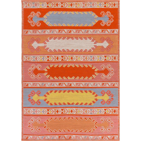 Sajal Burnt Orange, Camel Rug - Surya (SAJ-1064)
