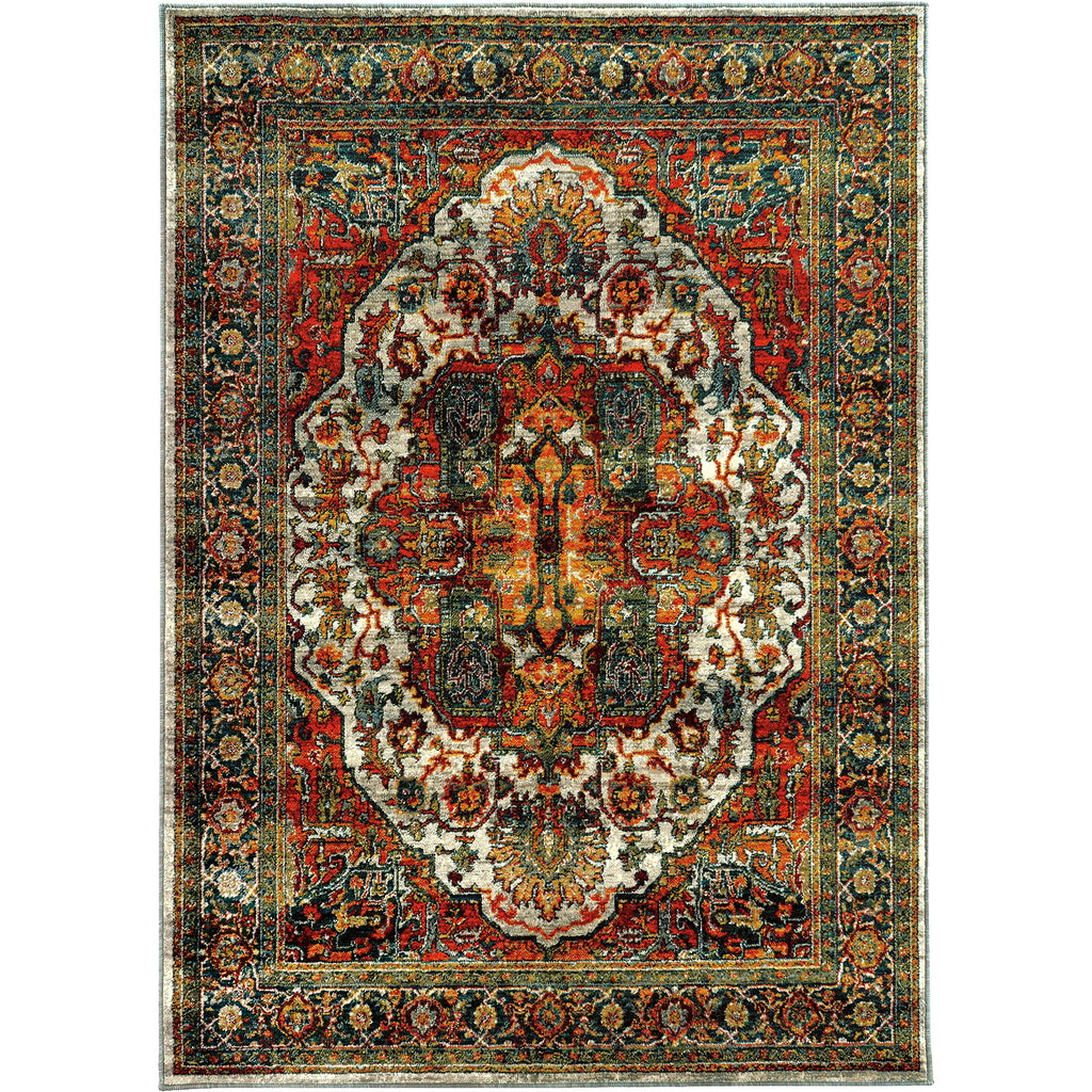 SEDONA 6382B Red, Blue Rug - Oriental Weavers