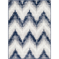 Seville Dark Blue, Medium Gray Rug - Surya (SEV-2302)
