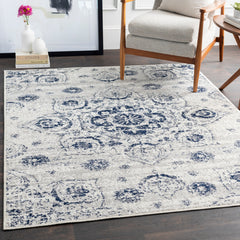 Seville Dark Blue, Medium Gray Rug - Surya (SEV-2305)