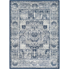 Seville Dark Blue, Medium Gray Rug - Surya (SEV-2306)