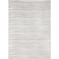Seville Medium Gray, White Rug - Surya (SEV-2308)