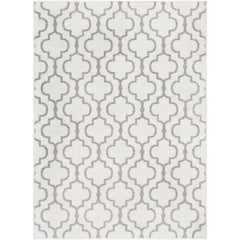 Seville Medium Gray, White Rug - Surya (SEV-2319)