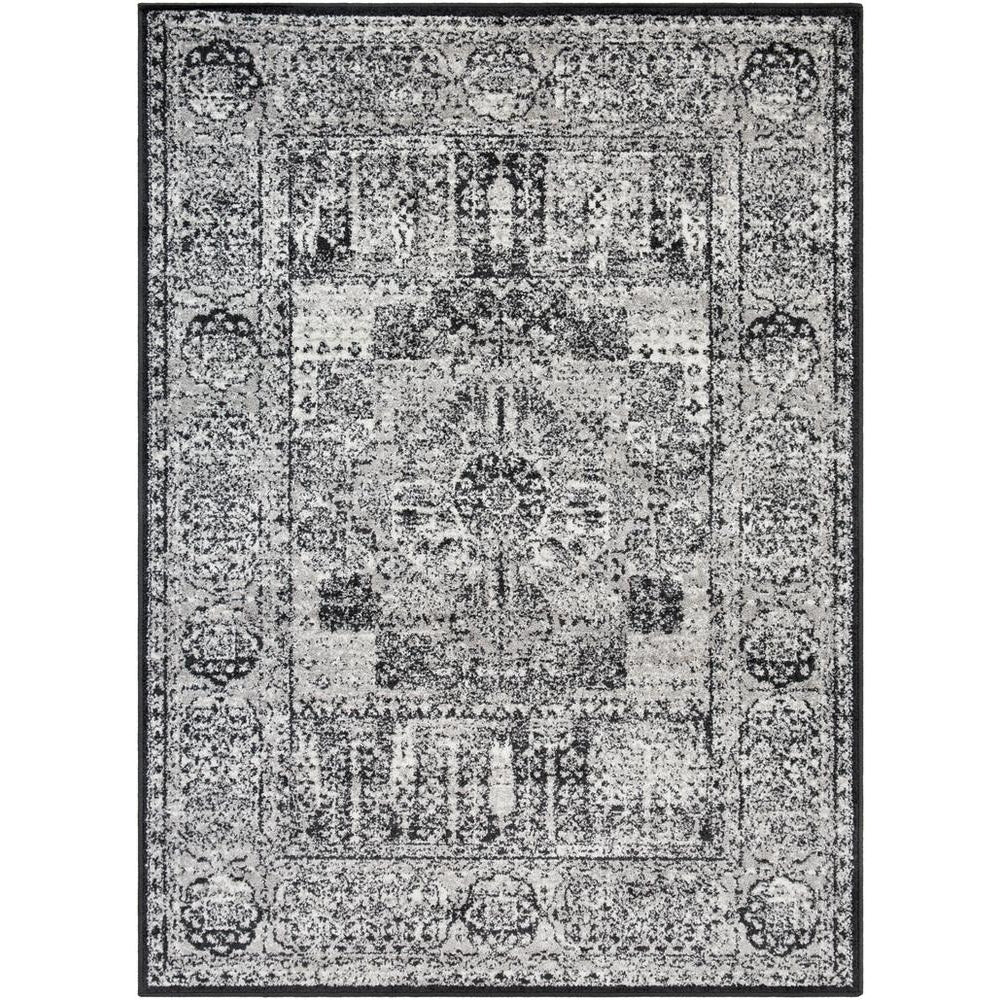 Seville Black, Medium Gray Rug - Surya (SEV-2323)