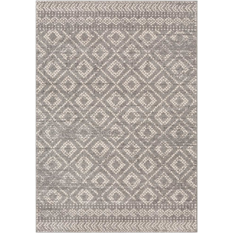 Sunderland Medium Gray, Light Gray Rug - Surya (SUN-2302)