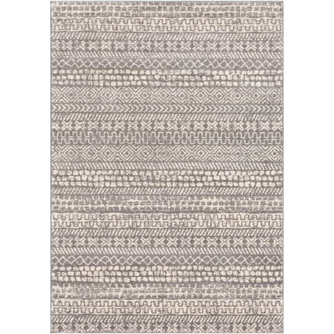Sunderland Medium Gray, White Rug - Surya (SUN-2303)