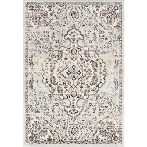 Sunderland Medium Gray, Light Gray Rug - Surya (SUN-2313)