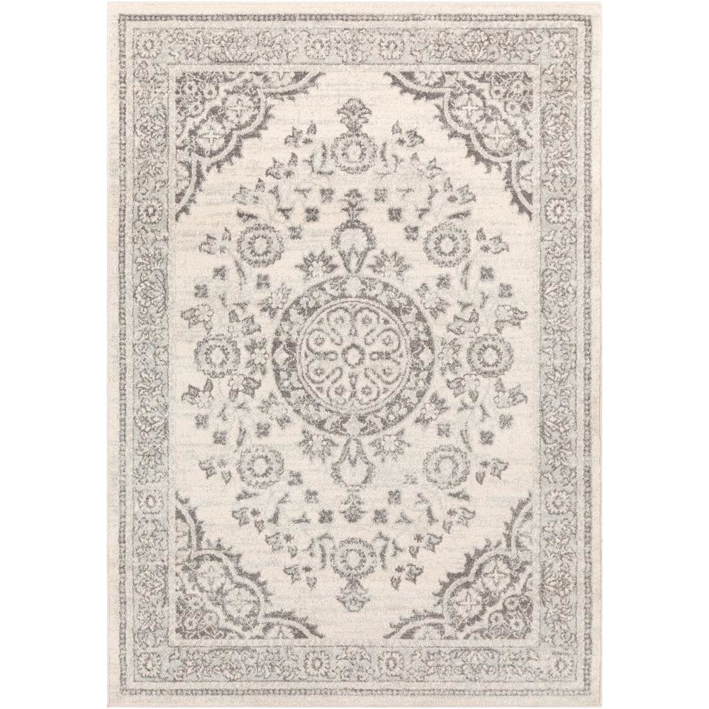 Sunderland Medium Gray, Light Gray Rug - Surya (SUN-2317)