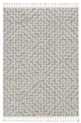 Willow 1104 Ivory Grey Rug - Kas