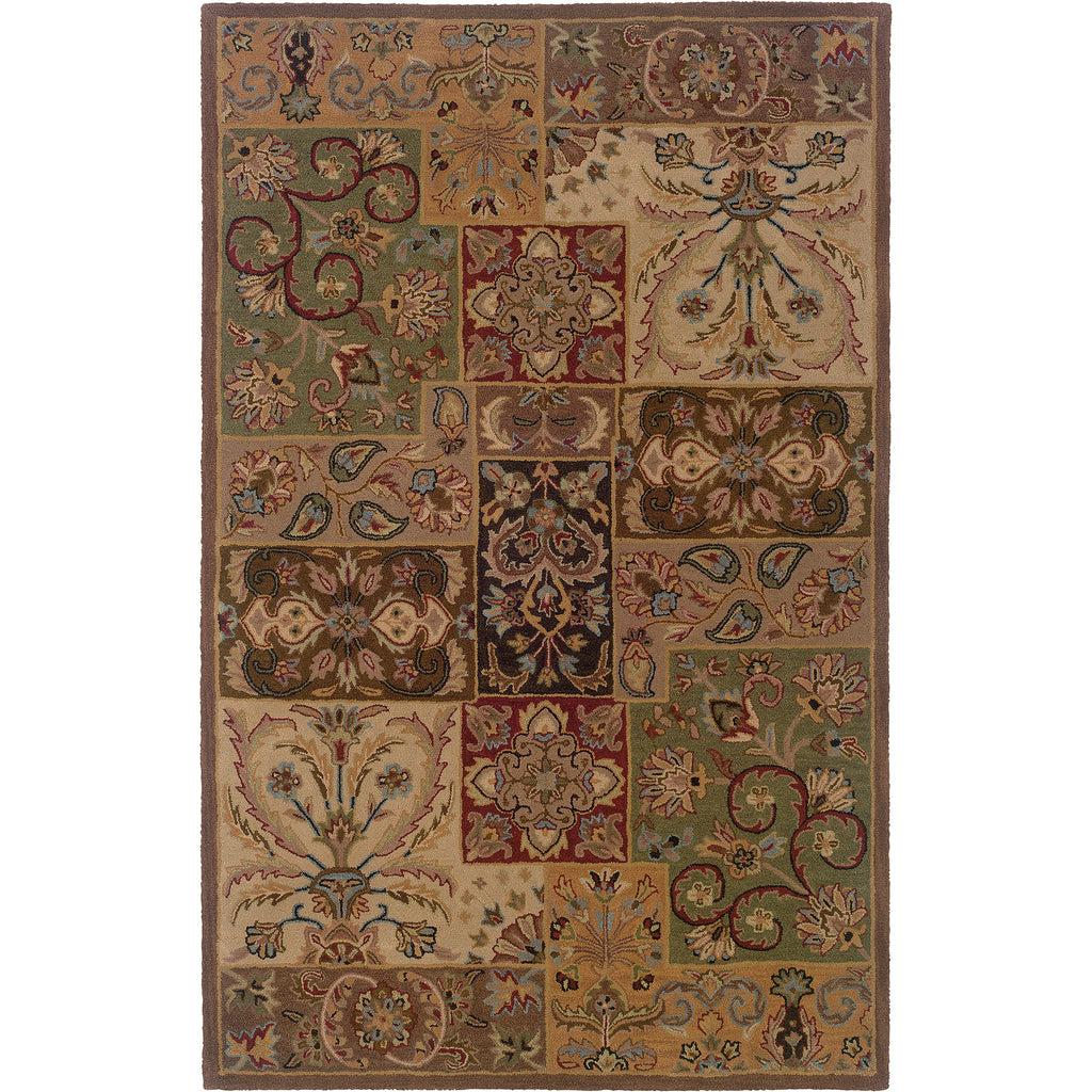 WINDSOR 23103 Beige, Brown Rug - Oriental Weavers