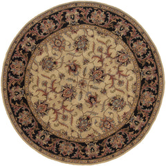 WINDSOR 23105 Ivory, Black Rug - Oriental Weavers