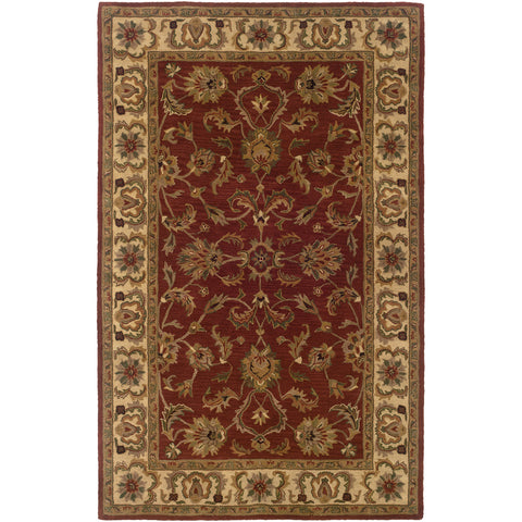 WINDSOR 23109 Red, Ivory Rug - Oriental Weavers