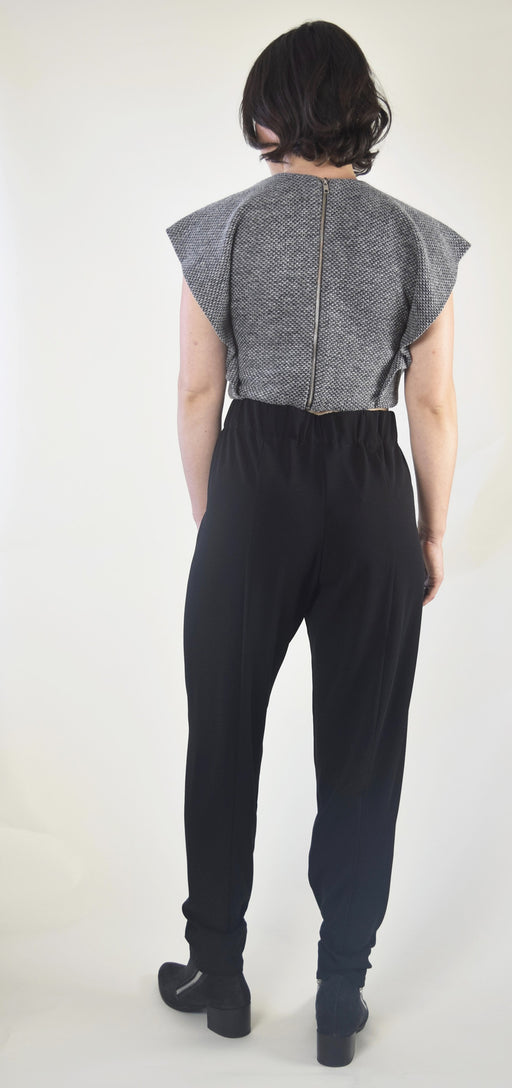 Seamed pants