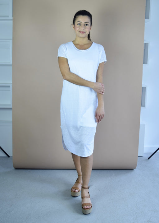 Linen sphinx dress