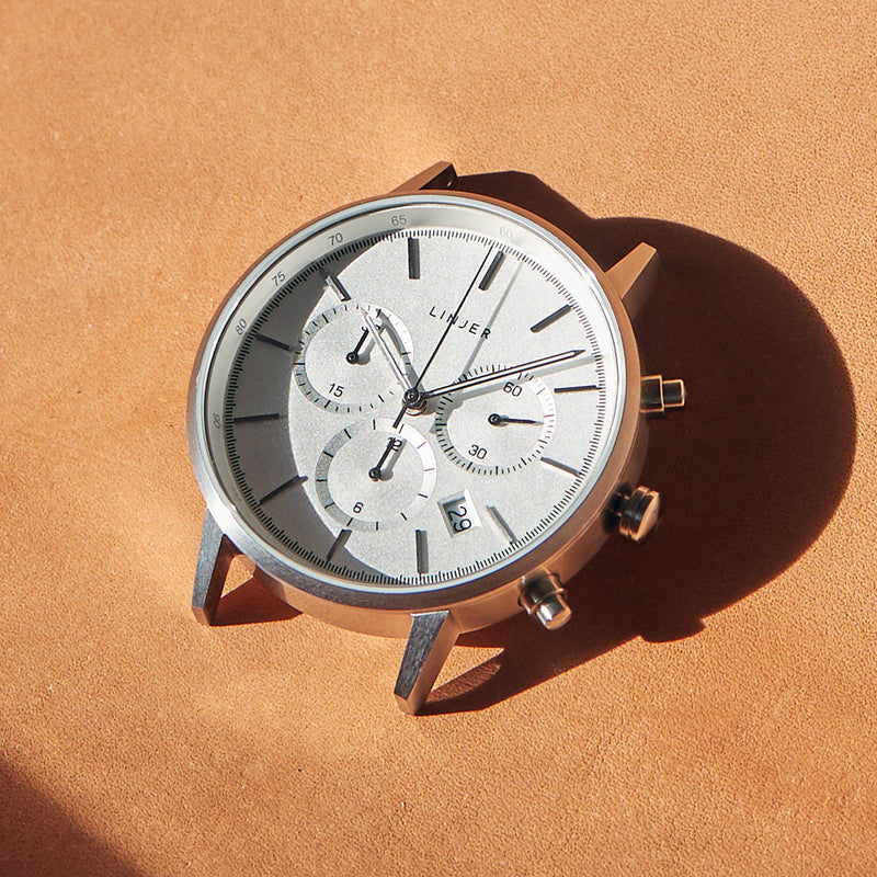 The Chronograph, Silver Head