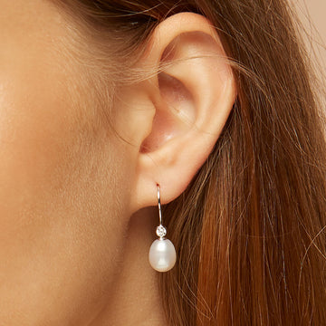 Karin Pearl Drop Earrings