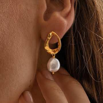 Mathilde Pearl Earrings