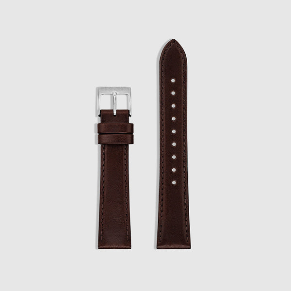Men's Watch Strap - Silver/Mocha