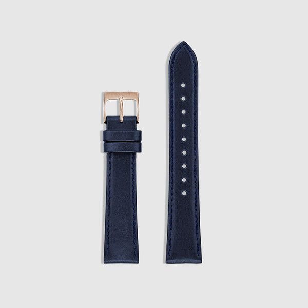 Men's Watch Strap - Rose Gold/Navy
