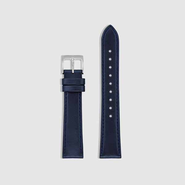 Men's Watch Strap - Silver/Navy