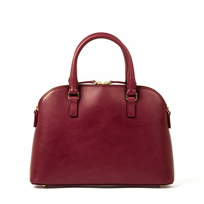 The Crossbody Purse (Private) - Bordeaux - Final Sale