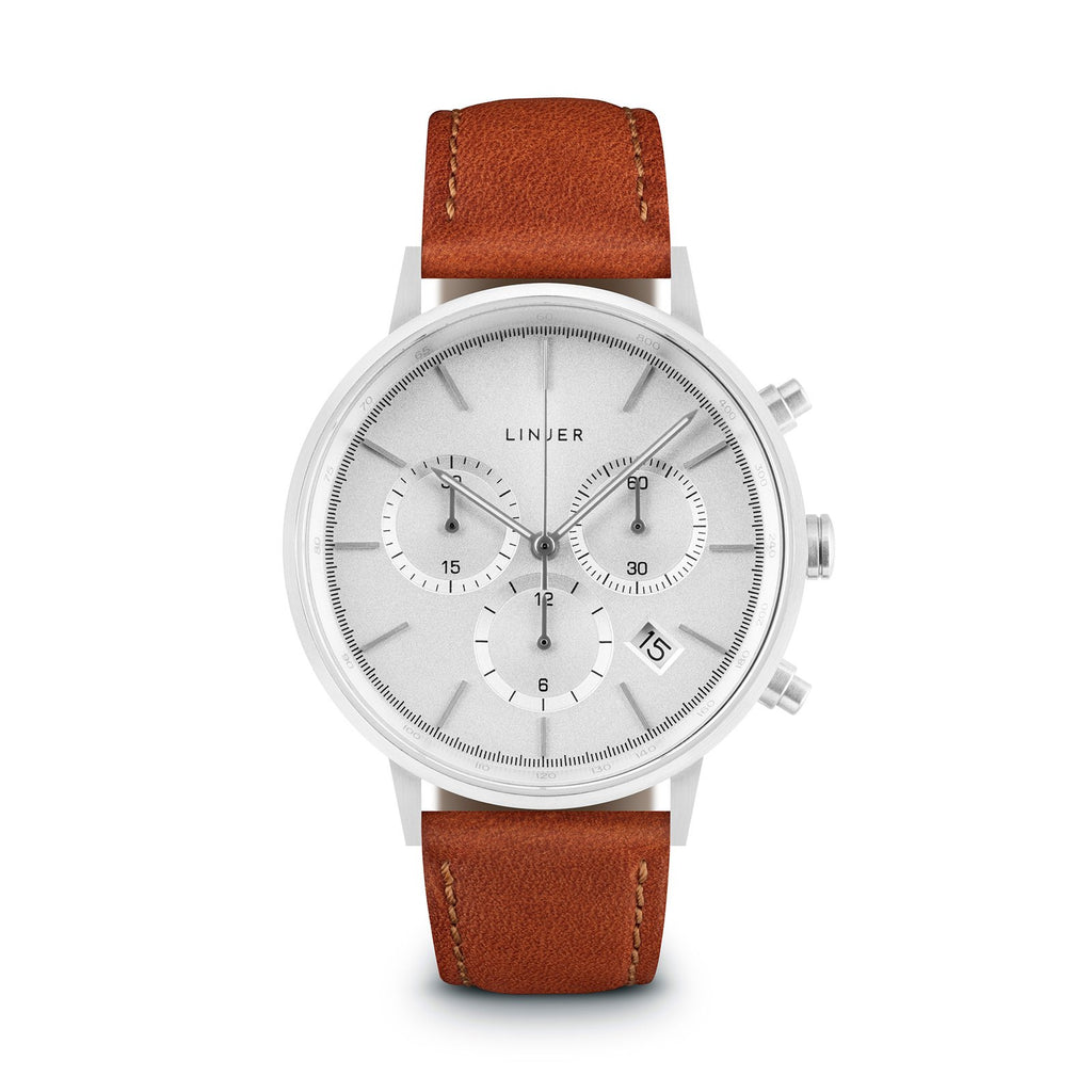 strap brown s gent watch watches london gents image chiswick henry leather chronograph