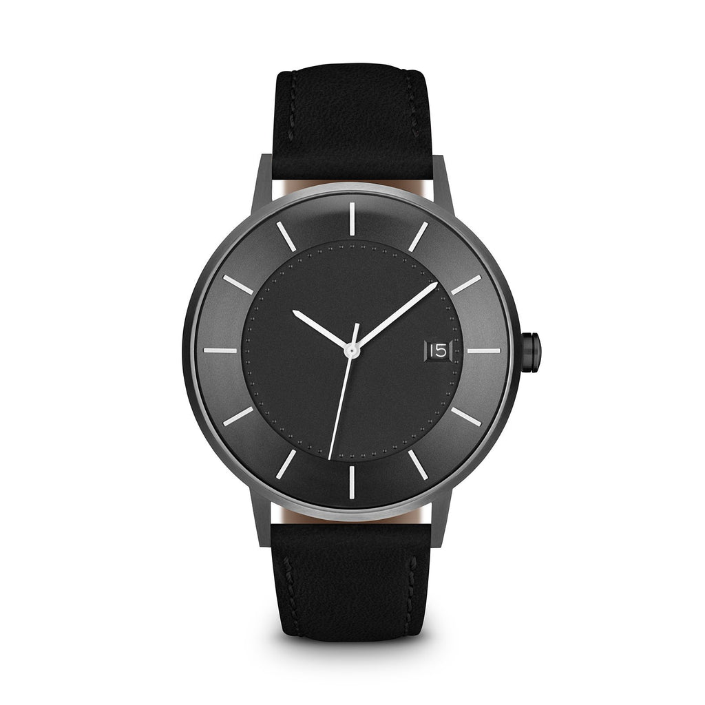 Grey Dial, Gunmetal/Black