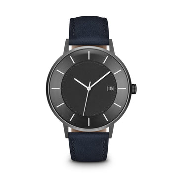 Grey Dial, Gunmetal/Navy - LIMITED EDITION