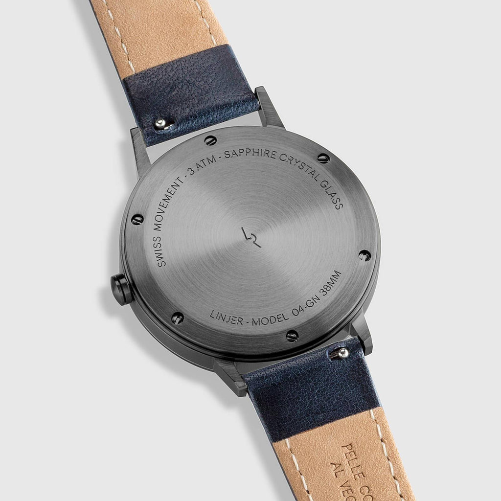 Grey Dial, Gunmetal/Navy
