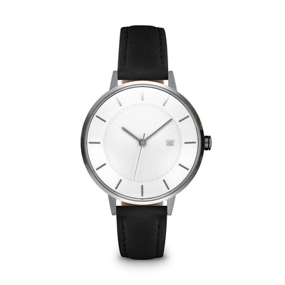 Women's The Classic Watch - Gunmetal/Black / 34mm