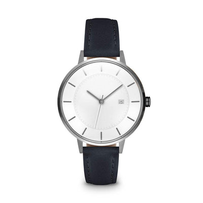 Women's The Classic Watch - Gunmetal/Navy / 34mm
