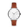Women's The Classic Watch - Gunmetal/Tan / 38mm