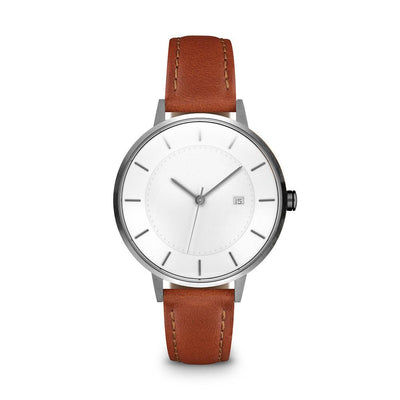 Women's The Classic Watch - Gunmetal/Tan / 34mm