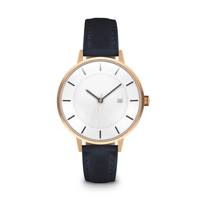 Women's The Classic Watch - Rose Gold/Navy / 34mm