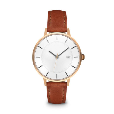 Women's The Classic Watch - Rose Gold/Tan / 34mm