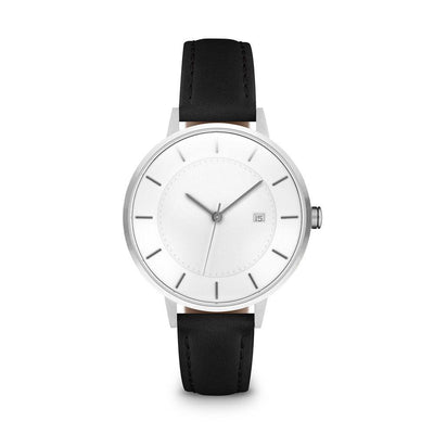 Women's The Classic Watch - Silver/Black / 34mm