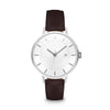 Women's The Classic Watch - Silver/Mocha / 38mm