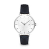 Women's The Classic Watch - Silver/Navy / 38mm