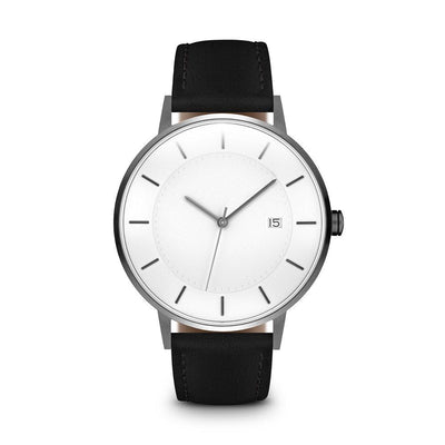 Men's The Classic Watch - Gunmetal/Black / 38mm