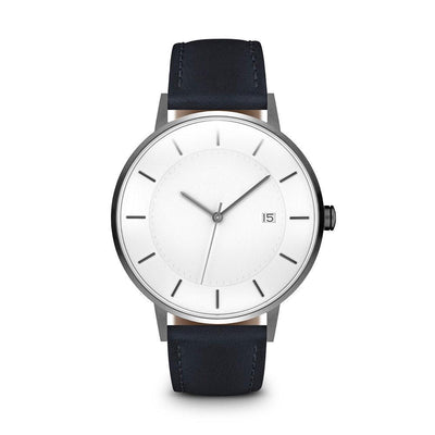 Men's The Classic Watch - Gunmetal/Navy / 38mm