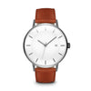 Men's The Classic Watch - Gunmetal/Tan / 41mm
